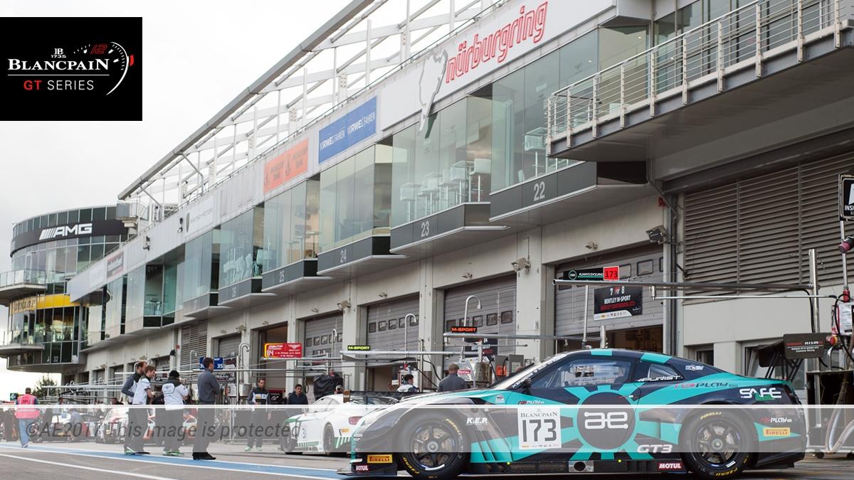 AE Motorsport x Blancpain x Nissan GT-R GT3